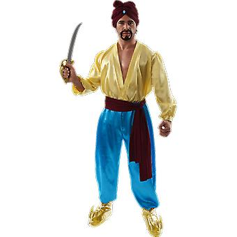 Orion kostuums mens Sinbad Pirate outfit film Arabian Sailor fancy dress kostuum