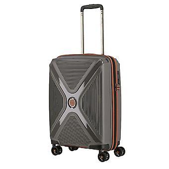 TITAN Paradoxx Handbagage Trolley S, 4 wielen, 55 cm, 40 L, grijs