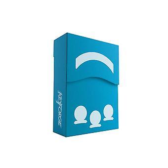 Keyforge Aries Deck Box Azul