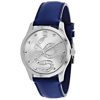 Gucci Men's Timeless Silver Dial Watch - YA1264138