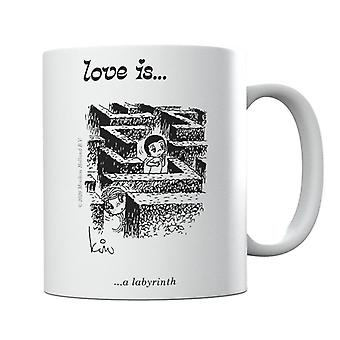 Love Is A Labyrinth Mug
