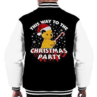 Noki joulu tällä tavalla joulujuhliin Men's Varsity Jacket