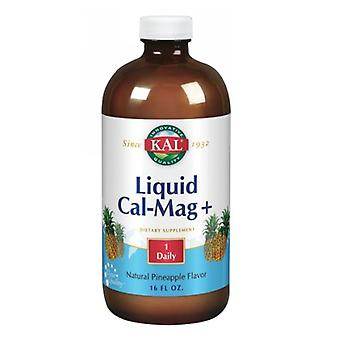 Kal Liquid Cal-Mag+, Pineapple 16 oz