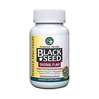 Erstaunliche Kräuter schwarze Samen, 100 Cap