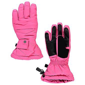 Spyder ΣΥΝΘΕΣΗ Χειμώνας Κορίτσι Σκι Γάντια ροζ