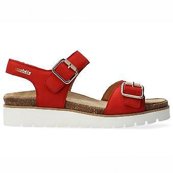 Women's Sandals Mephisto Mobils Tarina Red
