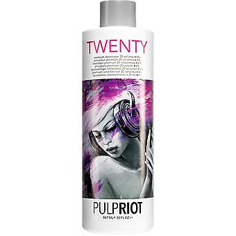 Pulp Riot Vegan Friendly & Cruelty Free Premium Scalp Developer - (20 Vol/6%) 887ml
