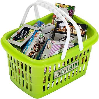 Theo Klein BIO Filled Shopping Basket For Ages 3+ and Above