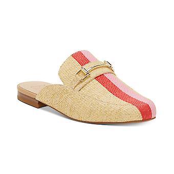 INC International Concepts Womens Gannie Fabric Almond Toe Mules