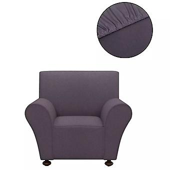 Sofahusse Stretchhusse Sofa Cover Anthracite Polyester Jersey