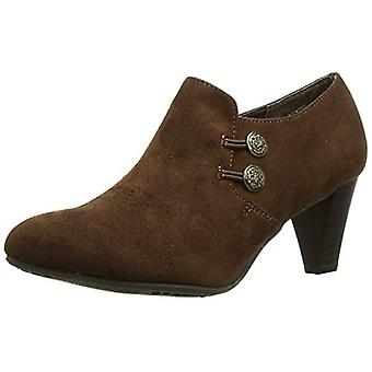 Rialto Womens Smith Leather Almond Toe Ankle Fashion Boots