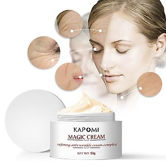 Six Peptide Antiwrinkle Cream for Eye Face Skin Care Lifting Firming Wrinkle Acid Hyaluronic Face Magic Cream with Pro-Retinol