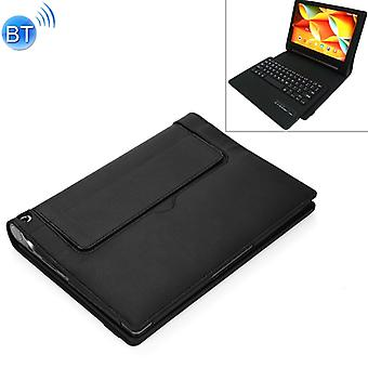 X50F Detachable Plastic Bluetooth Keyboard + Litchi Texture PU Leather Protective Cover for Lenovo YOGA Tab 3 10.1