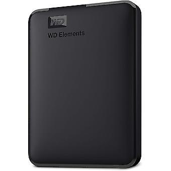 Wd 1 tb elements portable external hard drive - usb 3.0