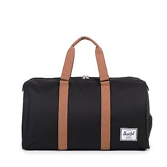 Herschel Novel Duffle Bag Black Tan