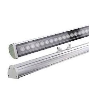 מכונת כביסה הובילה אור Dc24v סגסוגת אלומיניום חיצונית ליינר 2.4g Rf Dmx512