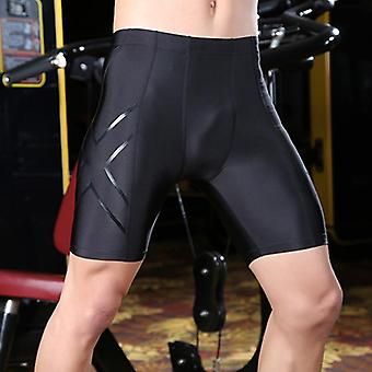 Men Compression Shorts Tight Running Cycling Sweat/short Fitness Pants