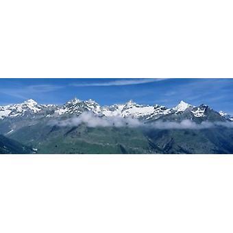 Alpes suizos Suiza Poster Print