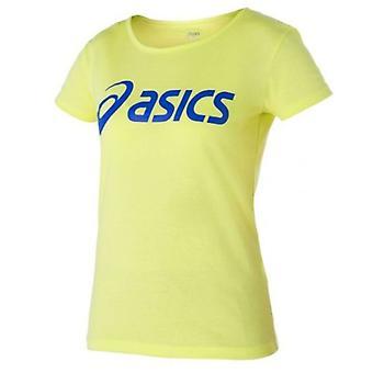 Asics kvinner Sport Logo Tee Casual Kjører Gym T-skjorte 122863 0342