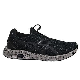 Asics Hyper Gel-Kenzen Black Slip على Mens Running Trainers T8F0N 9090