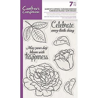 Crafter & apos; s Companion Bloom med lycka tydliga frimärken
