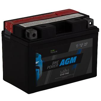 intAct YTZ14S-BS Maintenance Free AGM Bike-Power Battery