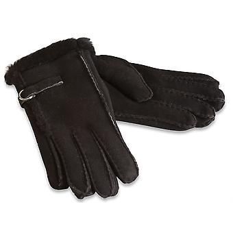 Nordvek Womens Sheepskin Gloves - Fashionable Line and Strap # 310-100