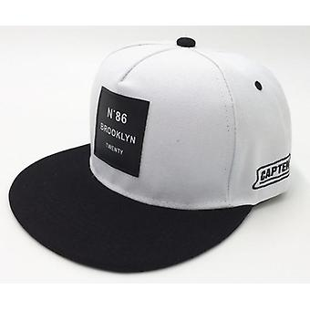 New Brooklyn Letters Solid Color Patch Baseball Hip Hop Leather Sun Hat