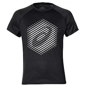 Asics True Performance Graphic Herren Laufen Fitness Training T-Shirt T-Shirt schwarz
