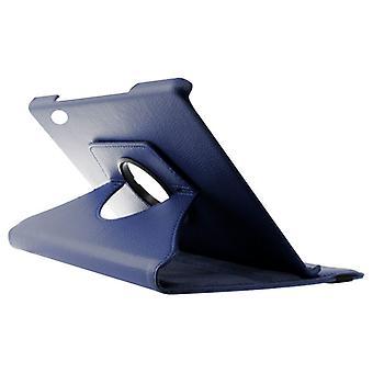 "Sak 360º Kontakt Huawei T5 10,1"" Lærblå"