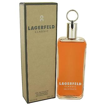 Lagerfeld Eau De Toilette Spray por Karl Lagerfeld 5 oz Eau De Toilette Spray