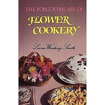 Art oublié de la cuisinière à fleurs