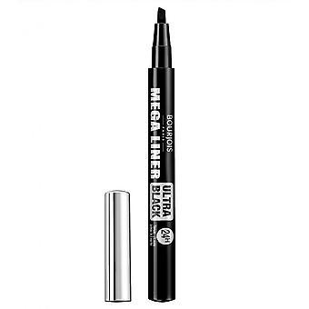 Bourjois Mega Liner Felt Tip Pen - 02 Ultra Black