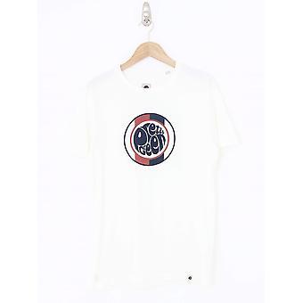 Pretty Green Tilby Logo T.Shirt - White