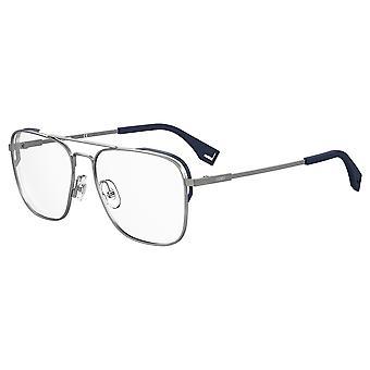 Fendi FF M0089 V84 Ruthenium Blue Glasses
