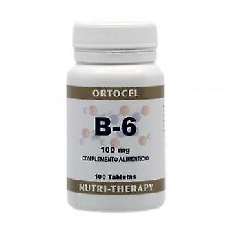 Ortocel Nutri Therapy Vitamina B-6 100Mg, 100Comp,