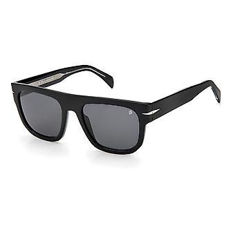 David Beckham DB7044/S 807/IR Black/Grey Sunglasses