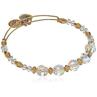 Alex and Ani Swarovski Crystal Beaded Frost Bangle Bracelet - A17EBSW05SG