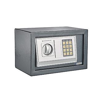 Secure Electronic Digital Steel Safe Home Office Cash Safety Deposit Box (8.5L)