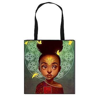 Afro Print Totes Africa Women Fashion Handbag ( Set 1)