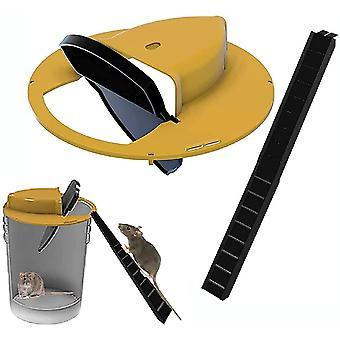 Flip N Slide Bucket Lid Mouse Rat Trap 11159