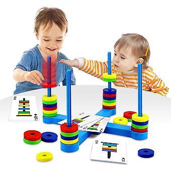 FengChun Brettspiel, Pdagogische Kinderspiele ab 3 4 5 6 7 8 Jahre, Magnetisches Match-Spiel fr