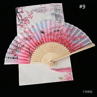 Chinesische Vintage Stil Falten Fan Kunst Handwerk Geschenk Tanz Hand Fan Home Dekoration Ornamente
