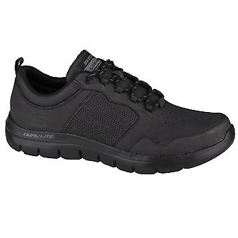 Skechers Flex Advantage 20WHAT A Thrill 999298BBK universal all year men shoes