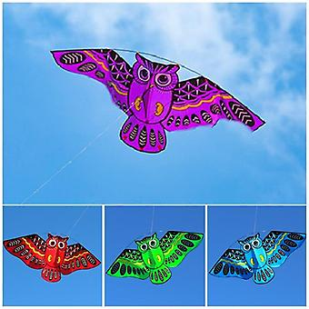Owl Flying Kites For Adult Outdoor Fun Sports Toy.