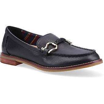 Sperry Seaport Penny Plushwave Ladies Leather Loafers Black