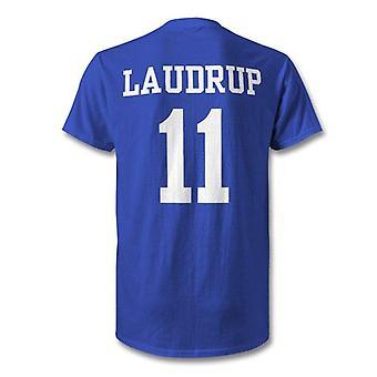 Brian laudrup rangers leggenda bambini eroe t-shirt
