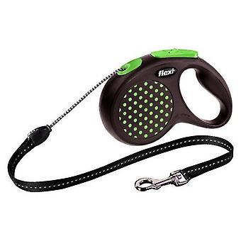 Flexi Correa Design Cordón Verde (Perros , Collares, correas y arneses , Correas)
