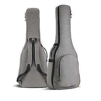 Kaksinkertainen olkaimet akustinen klassinen kitara laukku