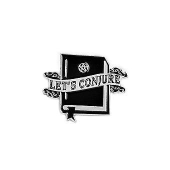 Attitude Clothing Let's Conjure Spell Book Enamel Pin